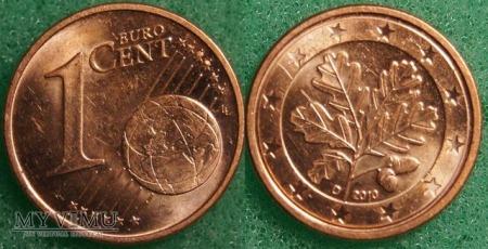 1 EURO CENT 2010 D