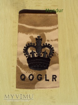 Wieka Brytania-oznaka stopnia: QOGLR