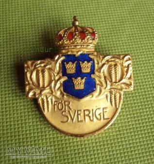 Riksidrottsmärke - złota odznaka