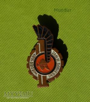 Odznaka 11 Dywizji Kawalerii Pancernej - brązowa