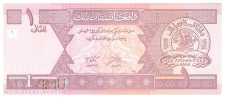 Afganistan - 1 afgani (2002)