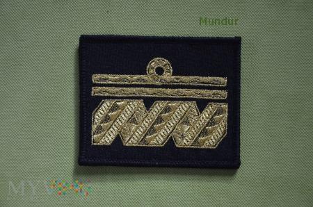 Oznaka stopnia MW - wiceadmirał