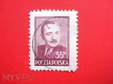 Brązowoliliowy Bolesław Bierut