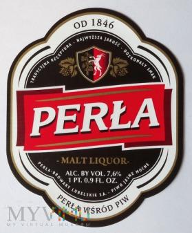 perła malt liquor