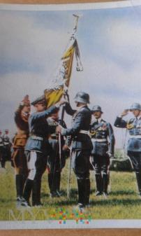sztandar. generał Erhard Milch