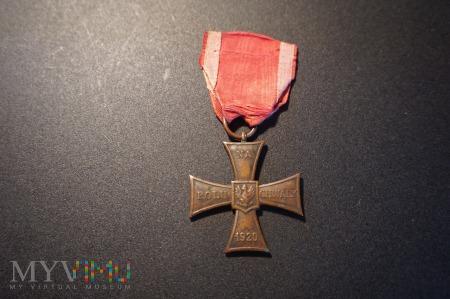 Duże zdjęcie Krzyż Walecznych - Knedler - niski nr: 3994 - RR