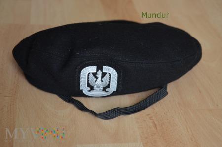 Beret czarny lotnictwa WP - orzeł termodruk