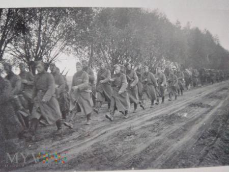 w marszu na Warszawę