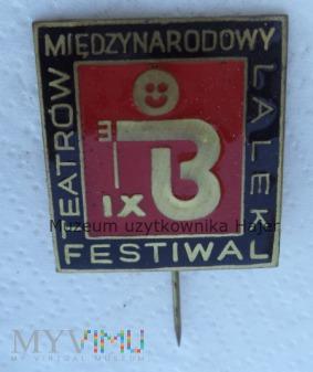 IX Międzynarodowy Festiwal Teatrów Lalek