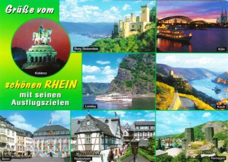 Grüße vom schönen Rhein