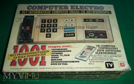 Computer Electro 1001 - stara gra informacyjna