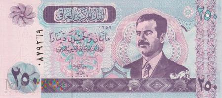 IRAK 250 DINARÓW 2001