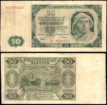 50 zł 1948r.