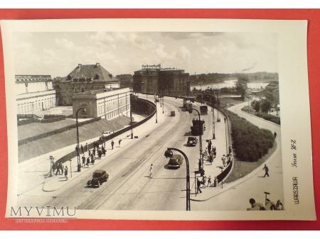 Warszawa Trasa W-Z w kierunku Pragi l. 50-te