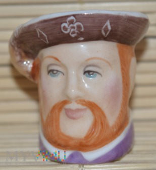 Naparstek -głowa/Henryk VIII