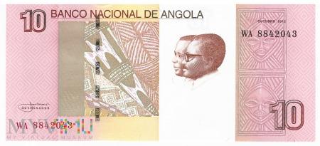 Angola - 10 kwanza (2012)