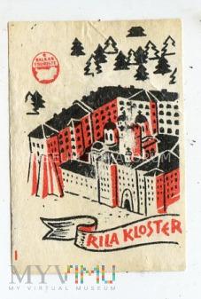 """Etykieta """"Rila Kloster"""""""
