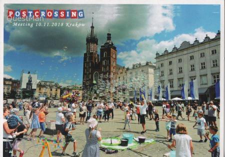 Postcrossing Meeting Kraków, 10.11.18