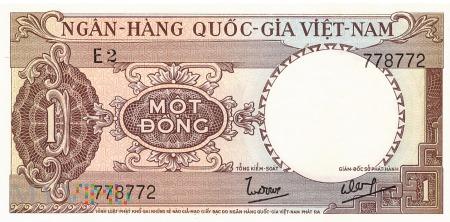 Wietnam Południowy - 1 dong (1964)