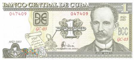 Kuba - 1 peso (2003)