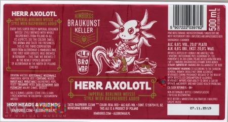 AleBrowar, Herr Axolotl