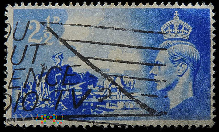 2½d Jerzy VI