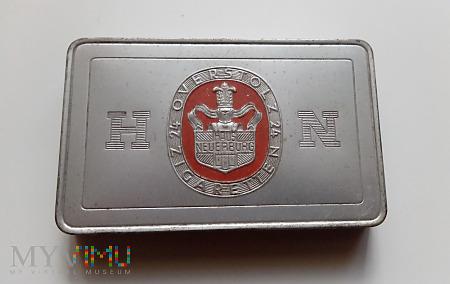 Aluminiowe pudełko po papierosach Overstolz