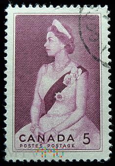 Kanada 5c Elżbieta II Wizyta królewska 1964
