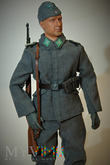 Rottenfuhrer z Forstschutzkommando- GG, lato 1943.