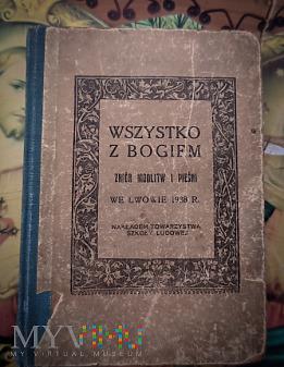 Zbiór modlitw i pieśni Lwów 1938 r. II RP
