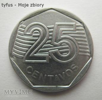 25 CENTAVOS - Brazylia (1995)