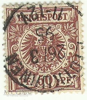 50 pfennig Eydtkuhnen 1895 r.