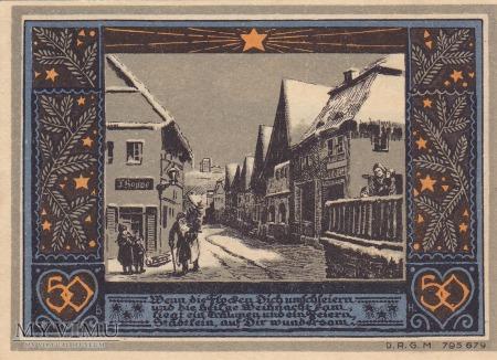 Notgeld Bolkenhain in Schlesien 50 Pfg.