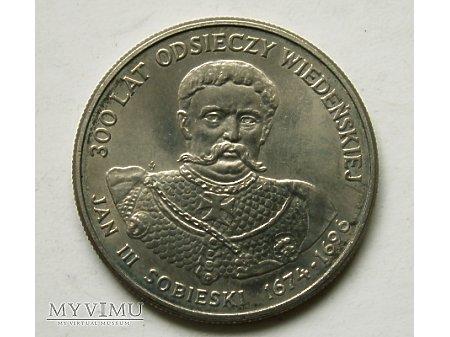 PRL- 50 zł rok 1983- Jan III Sobieski