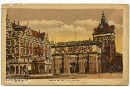 Duże zdjęcie Gdańsk Danzig - Brama Wyżynna - lata 20-te