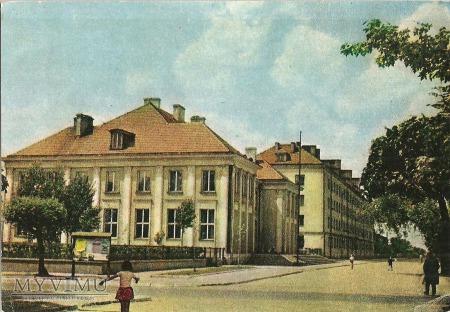 Mińsk Mazowiecki- fragment miasta-pocztówka.