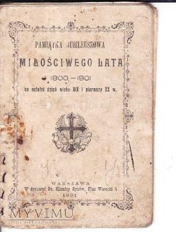 Książeczka religijna z 1901.