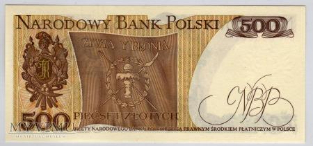 MC 153 - 500 Złotych - 1979