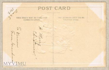 1917 rok Mikołaj dziecko prezenty
