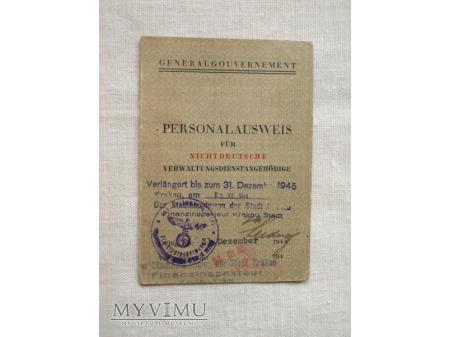 Dowód osobisty - Personalausweis