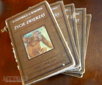 Życie zwierząt pięć tomów 1912-1914