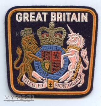 Naszywka - Wielka Brytania