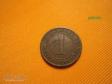 1 pfennig z 1932 r.