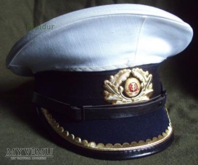 Duże zdjęcie Volksmarine Schirmmütze - Czapka oficera młodszego