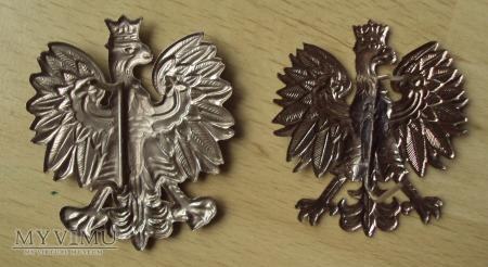 Orzełek metalowy policyjny 52x46mm