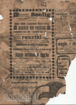"Duże zdjęcie 01 ""Gazeta Toruńska - Codzienna"" lipiec 1914"