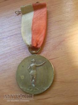 Medal za strzelectwo,czysty przed grawerowaniem