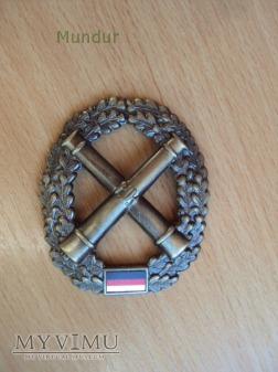 Bundeswehra: oznaka na beret Artillerie
