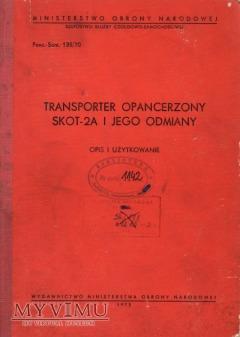 Duże zdjęcie SKOT-2A. Opis i użytkowanie z 1973 r.
