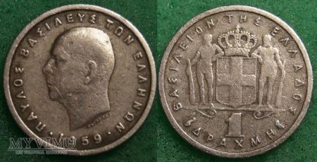Grecja, 1 Drachma 1959
